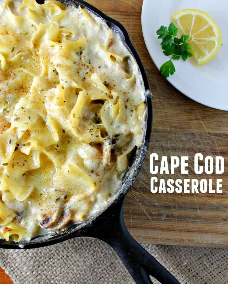 Easy Seafood Casserole