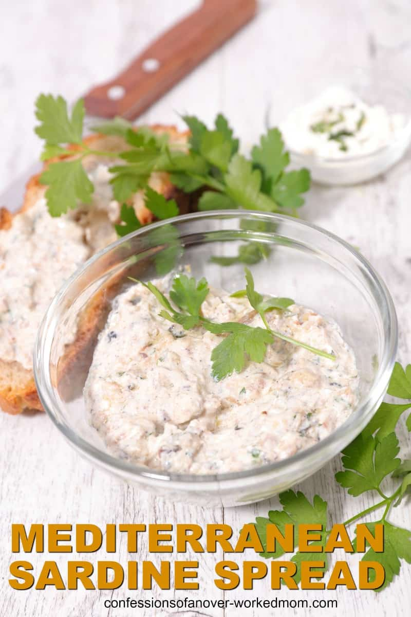 King Oscar Sardines Recipes and Mediterranean Sardine Spread