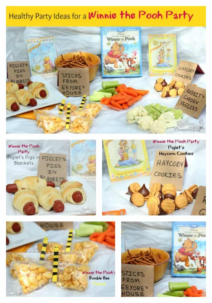 Healthy Party Ideas for a Winnie the Pooh Party