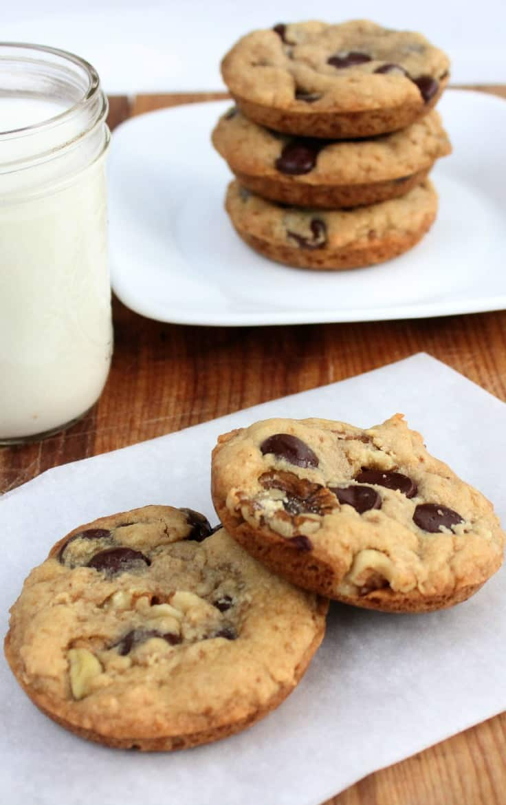 Big chocolate chip cookie recipe