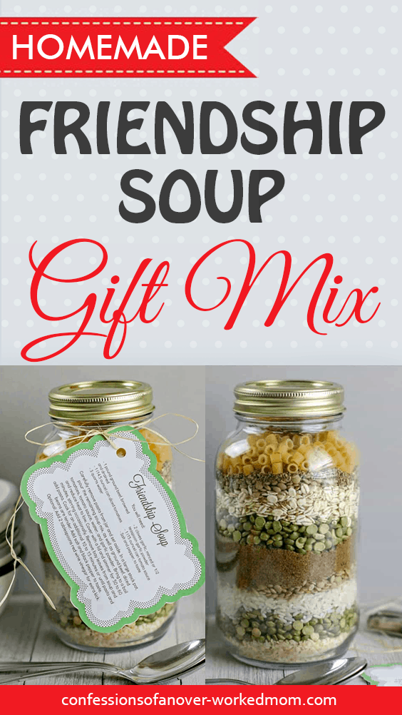 Gifts in a Jar for Christmas: Friendship Soup Gift Mix