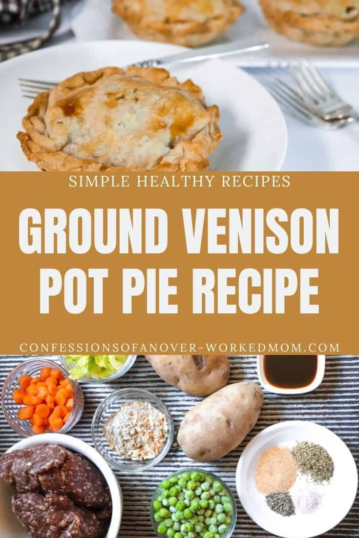 You are going to love this Venison Pot Pie recipe!  It's a family favorite. Try this easy venison meat pie the next time you have wild game to use up.